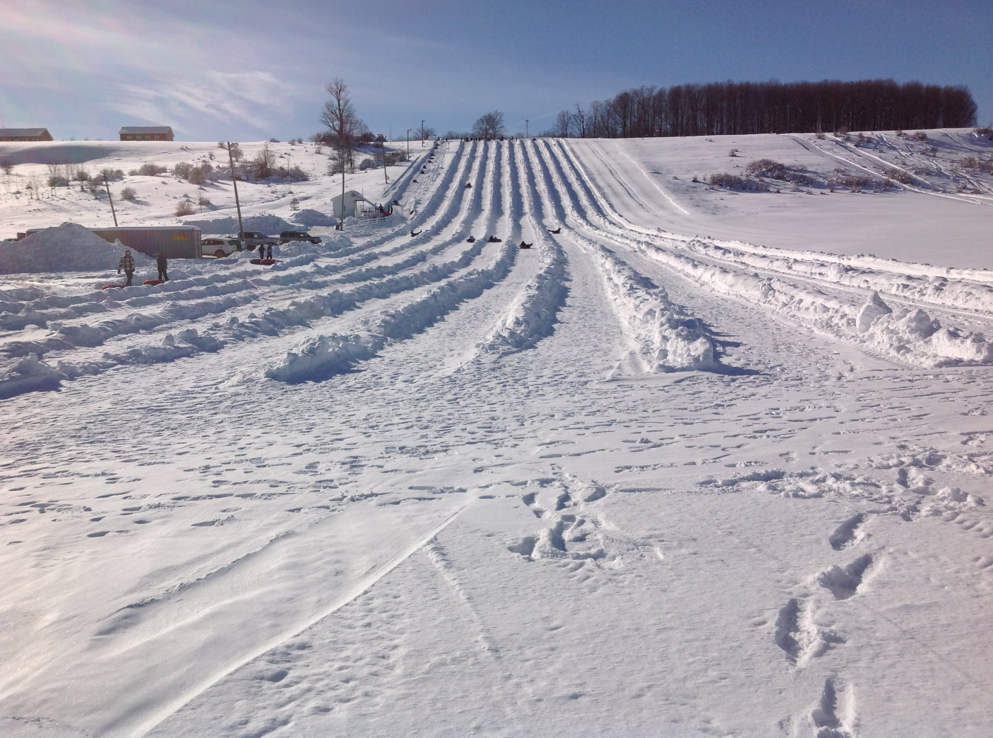 The Tubing Hill at Maple Ridge Center, Lowville NY